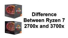 Ryzen 7 2700x and 3700x
