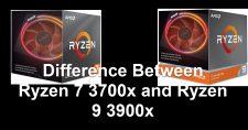 Ryzen 7 3700x and Ryzen 9 3900x