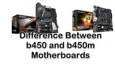 b450 and b450m Motherboards