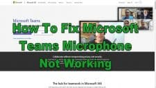 How To Fix Microsoft Teams Microphone Not Working