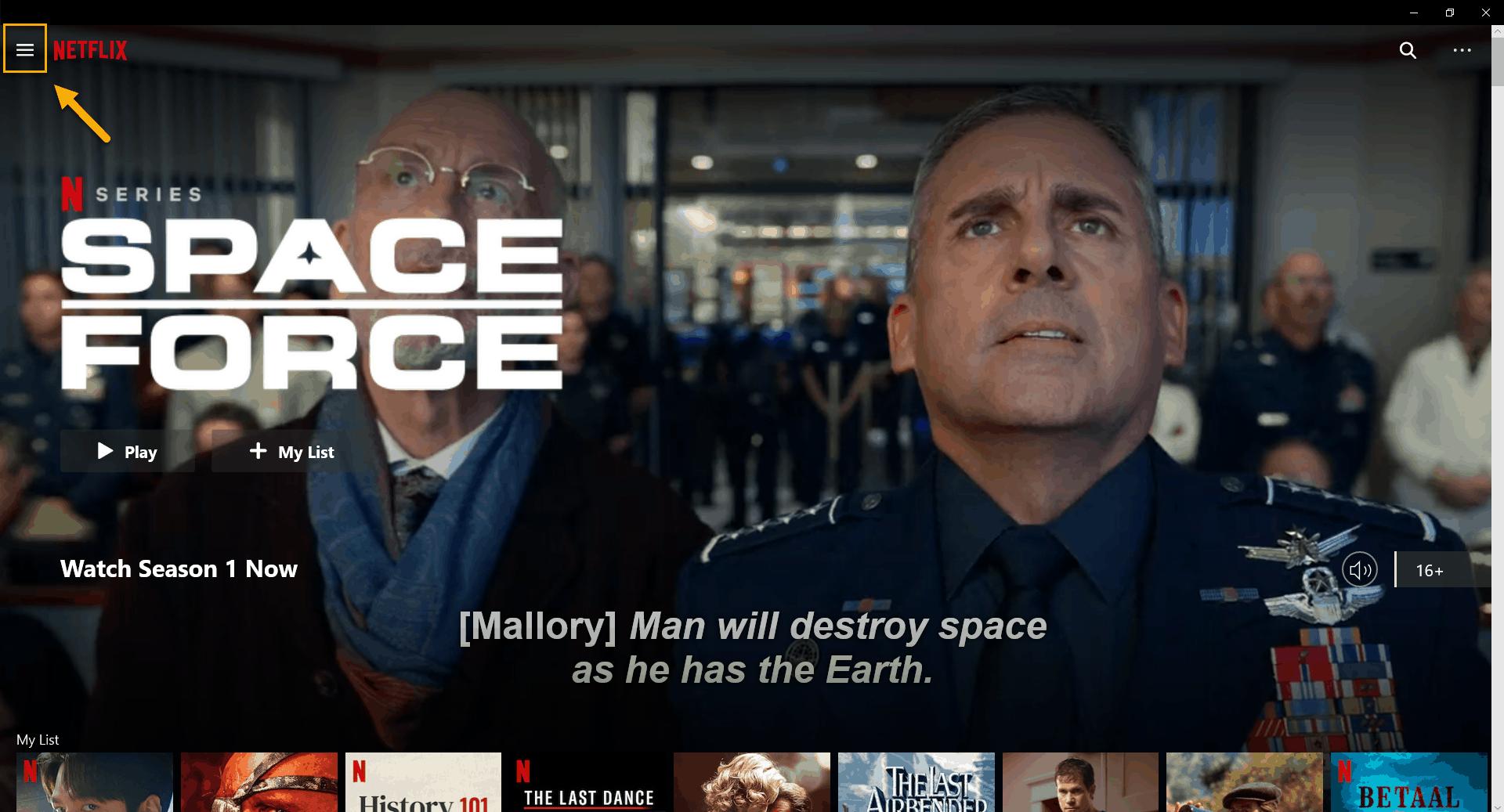 Netflix Error Code 11800