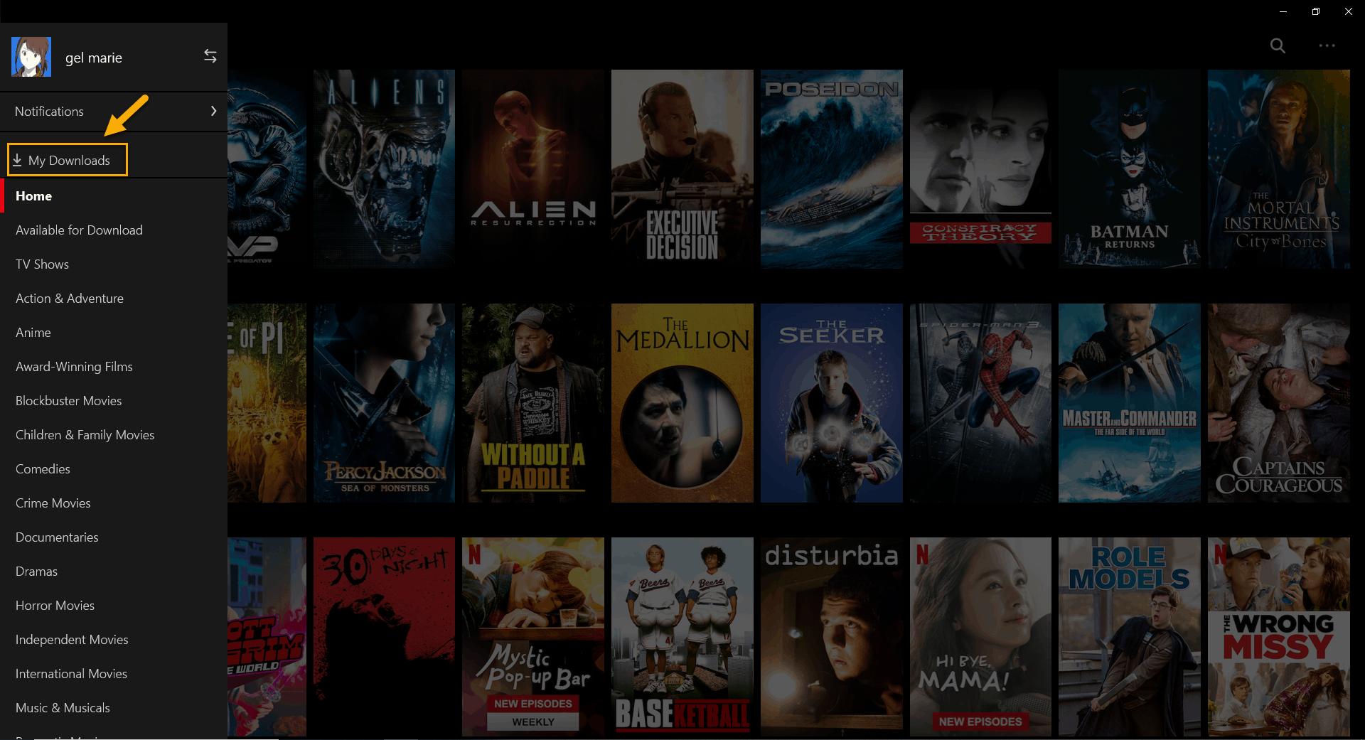 Netflix app returns error U7121-3202