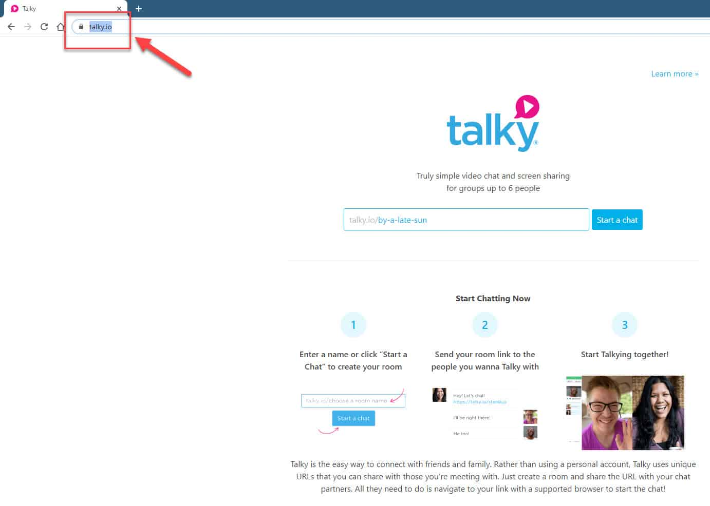 Talky No Sound During Video Call