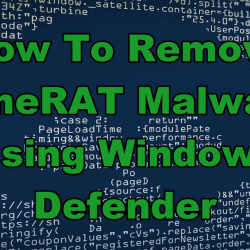 How To Remove LimeRAT Malware Using Windows Defender