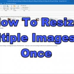 How To Resize Multiple Images At Once