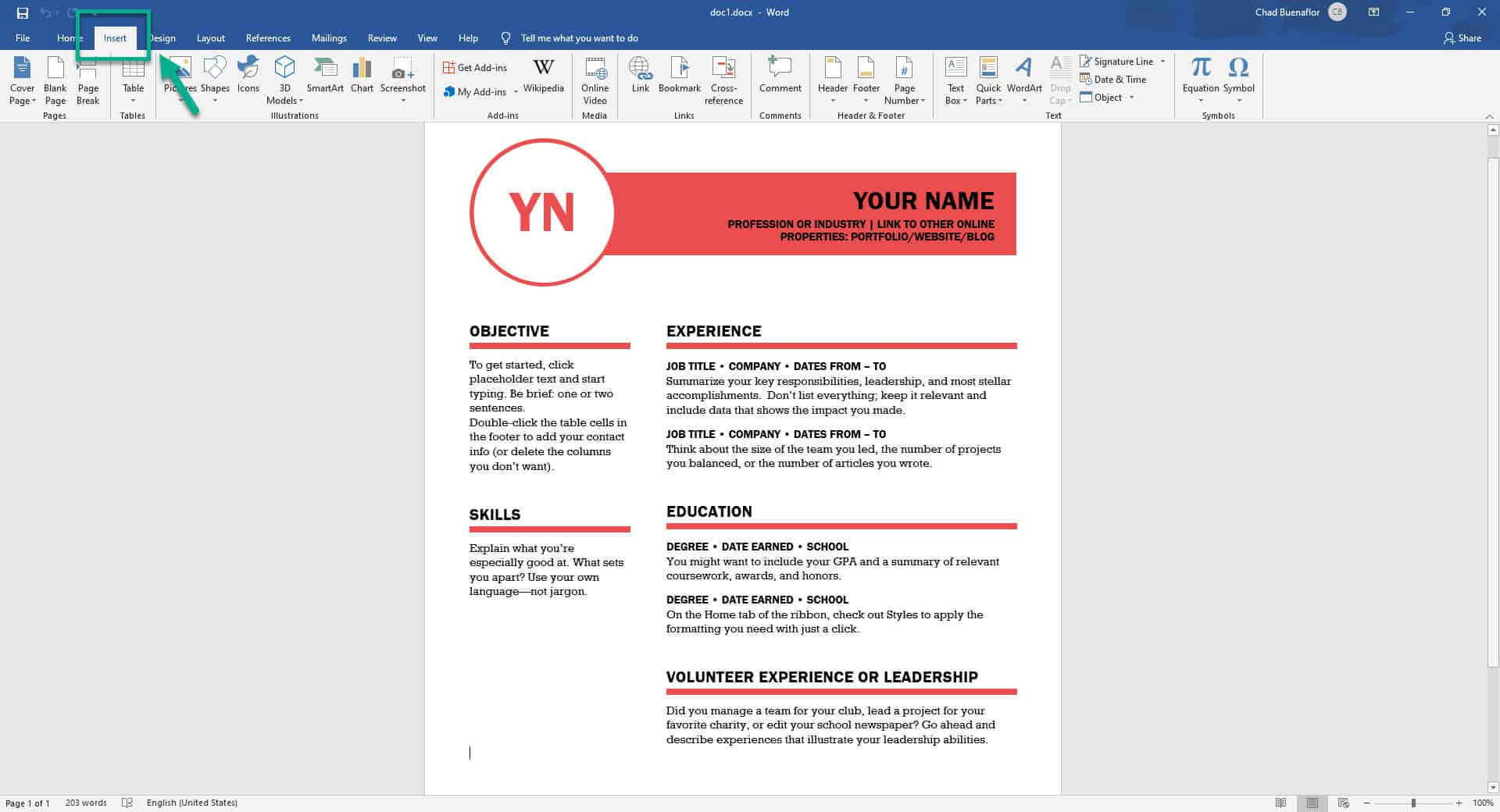 Combining word documents