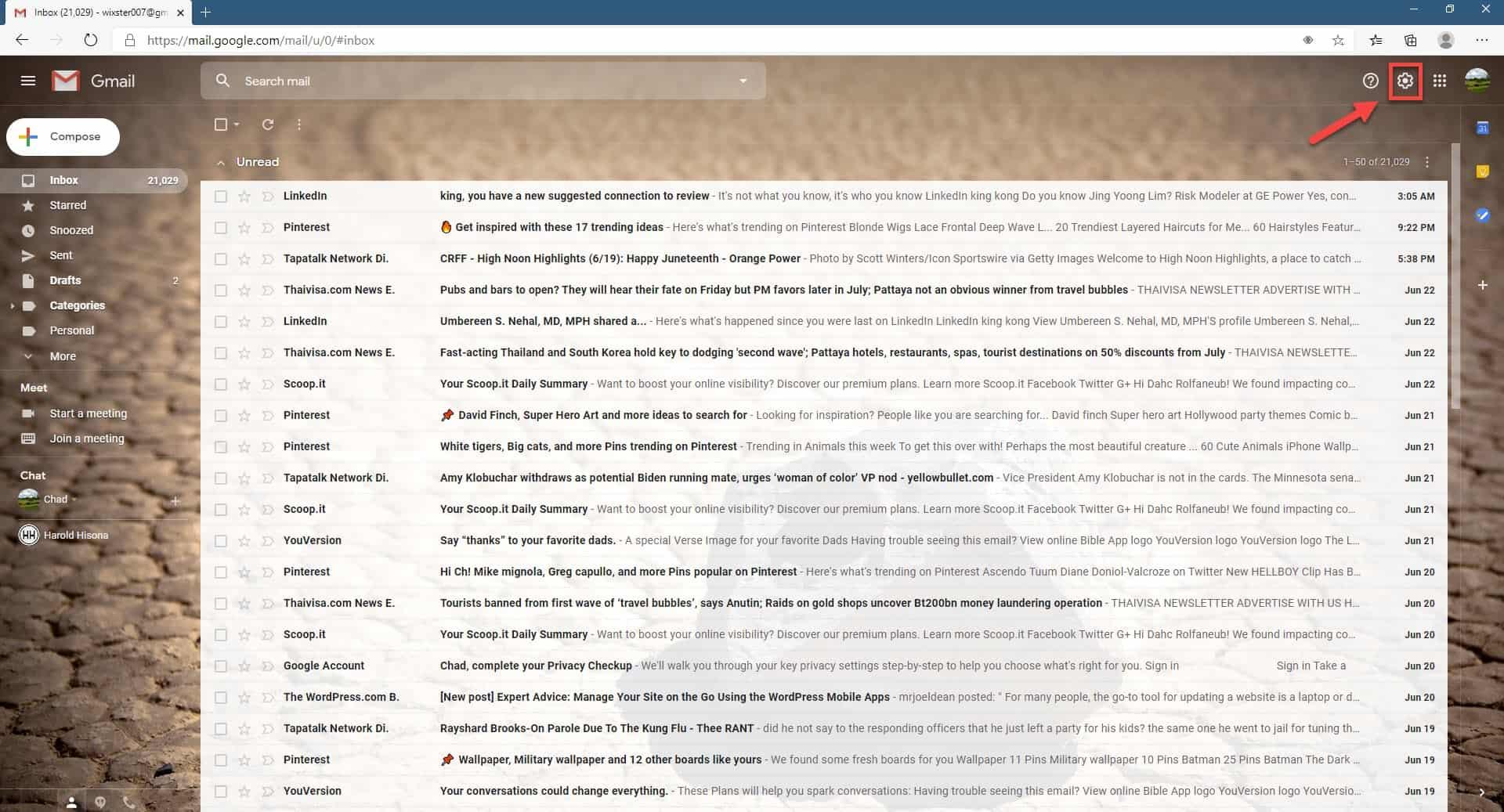 Creating a Gmail signature