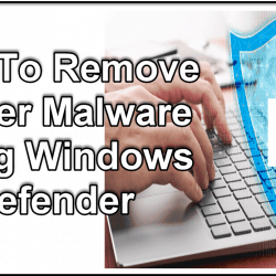 Remove Kovter Malware Using Windows Defender