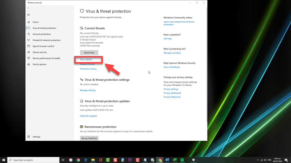Remove Clop Malware Using Windows Defender