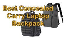 Best Concealed Carry Laptop Backpack